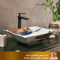 陶瓷台盆 陶瓷洗脸盆 建材卫浴套盆厂家