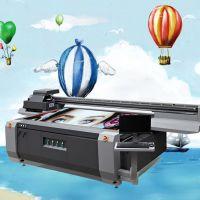 佛山有机玻璃打印机理光g5工业高速uv平板打印机亚克力标牌印刷机