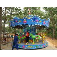 游乐设施 12座大型转马郑州游乐设备