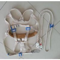 新款安全带 航空式绝缘安全带 双大钩蚕丝锦纶电工安全带汇能