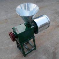 多用途粮食磨面机 小型电动磨面机 家用型麦子面粉机