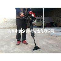 润众 链条挖树机组装指导 起带土球树木设备