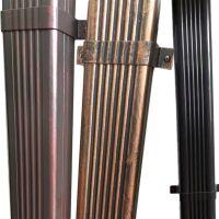 K型彩铝天沟上海别墅铝合金雨水槽系统