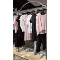 广州货源女装马克华菲欧美女装品牌折扣多种款式库存尾货茜舞