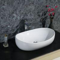 卫生间简约陶瓷台面个性异性台上洗手艺术盆