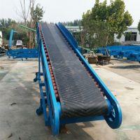 水果大型固定带式输送机 兴亚砂石料用皮带输送机制作