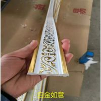 PVC大理石/背景墙/腰线/收口/压边/平板装饰线条/厂家批发5公分