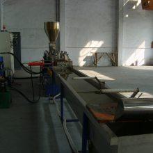 双螺杆水冷拉条造粒生产线 沃锐思机械色母造粒机