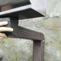 上海5K彩铝天沟雨落水管屋檐雨水槽经销商