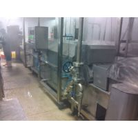 供应昊昌肉丸成型蒸煮冷却流水线 肉丸机