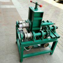 小型涡轮立式多功能折弯机 76加重型电动滚弯机 大棚弯弧机