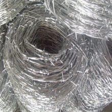 哈尔滨镀锌刺绳 1吨钢刺绳能有多少米 监狱刀片滚笼