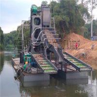 淘金船 淘金设备 小型淘金船