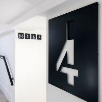 西安导视墙设计 标志墙制作