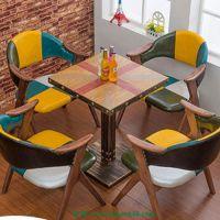 餐厅家具批发 咖啡厅餐桌椅 奶茶店桌椅 休闲餐桌椅 餐厅餐桌定制