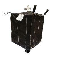 炭黑吨包带加强筋吨包内含内拉筋吨袋覆膜集装袋叉车用集装袋
