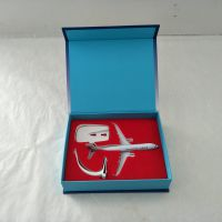 爱赏宝 厂家直销书式翻盖飞机模型礼品包装盒