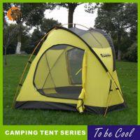 旷野户外专业双人双层帐篷20D涂硅春秋季超轻野营