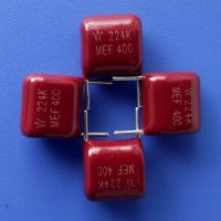 久亦/WB CL21金属化聚酯膜电容器厂家 定制 MEF224K400V 0.22uf