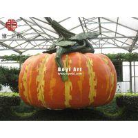 仿真瓜果蔬菜造型雕塑|玻璃钢农产品雕塑