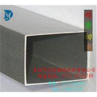 挤压铝方管 银色氧化铝方管