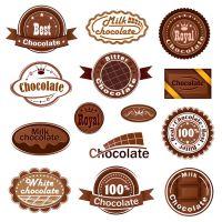 来图定制 德芙巧克力食品标签 各种罐装食品标签 厂家直销 粘性好