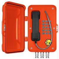 无线防爆电话机,内置手机卡的防水防爆直通对讲,户外4G工业话站