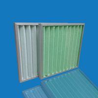 广东广州艾瑞厂家供应可清洗板式不锈钢子母架空气过滤器绿白棉针刺棉滤材