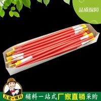 厂家直销油画笔 水粉水彩丙烯画笔 排笔 石膏陶瓷彩绘木质画笔