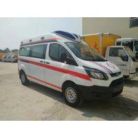 国五 江铃新全顺4974*2032*2407短轴急救型救护车销售 价格 专卖厂家