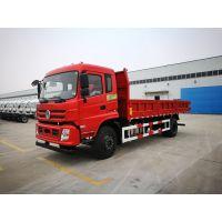 新疆客户3500里远赴十堰提东风特商6.5米平板自卸车