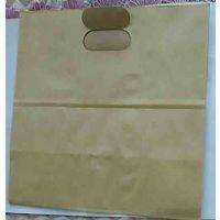 牛皮纸袋防油食品定制公婆烧饼手抓煎饼纸袋肉夹馍小吃打包袋子