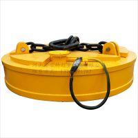 冶金吊运钢铁电磁起重器 电磁吸盘大小150mm 汽车吊挖掘机专用吸盘 安尔特