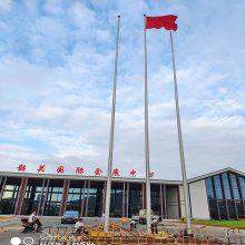 金聚进 许昌不锈钢国旗杆生产,漯河户外广场旗杆供应