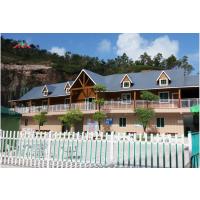 厂家专业定制设计双层别墅生态木屋防腐环保景观阳光房