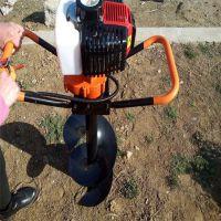 土地打孔机 富兴牌 种树挖眼刨坑机厂家 汽油钻孔机价格