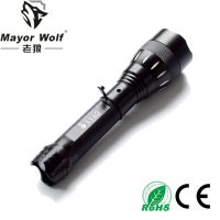 厂家批发 led充电手电筒 户外照明骑行500强光手电筒