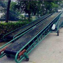 15米长带式输送机 兴运粮食装车输送机 爬坡运输机厂家