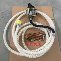 中西 (HLL)自吸式长管空气呼吸器/防毒面具 2米管 库号:M11260