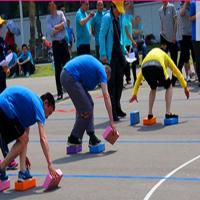 易动体育 摸石过河 趣味运动会道具 户外拓展训练 运动器材