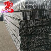 天津大棚管厂家 30*80*2.0椭圆管钢架大棚 6分纵梁管