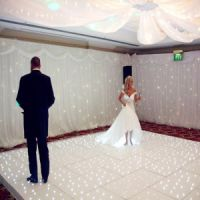 婚庆浪漫跳舞地板砖 LED星空地板砖 LED跳舞地板砖 亚克力地板砖 发光地板砖