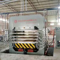 浙江新一代新型竹工艺板材压机 青岛国森机械 竹地板热压机