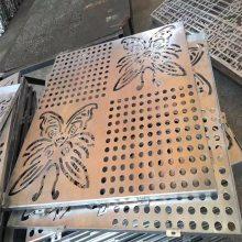 上海厂家供应外墙空调罩镂空冲孔雕刻雕花铝单板 欧百建材