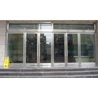红桥区安装各种自动感应门玻璃门维修换地簧=电机