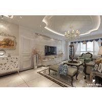 哈尔滨装修公司丨名创国际装饰丨金源世家丨140平丨三室一厅一卫丨欧式风格丨装修案例