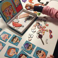 出口欧美 小红书推荐 儿童早教拼图磁铁书 情景磁力贴拼拼乐玩具
