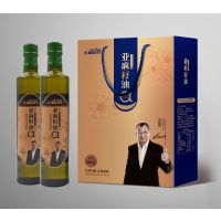大康时代亚麻籽油500ml*2瓶礼盒装