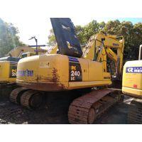 小松240二手挖掘机 挖掘机厂家低价销售