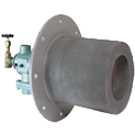 美国pyronics(xdf)冷焰-双燃料燃烧器应用在退火炉,热处理炉,金属熔炉,焚化炉,坩埚加热